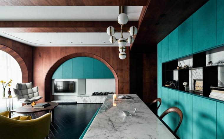 decoracion moderna-color-turquesa