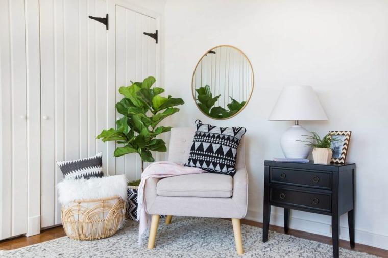 decoraciones para el hogar-recibidores-boho