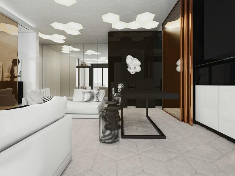 diseño-del-interior-geométrico