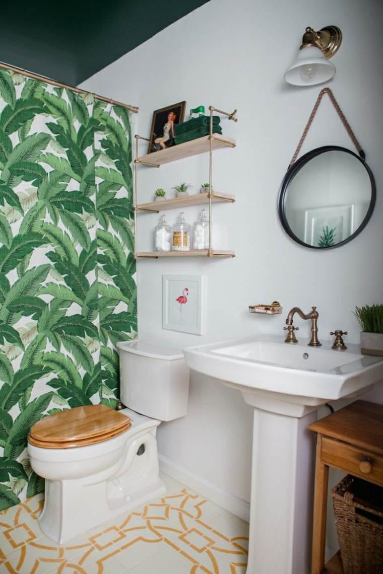 diseños de baños boho ideas