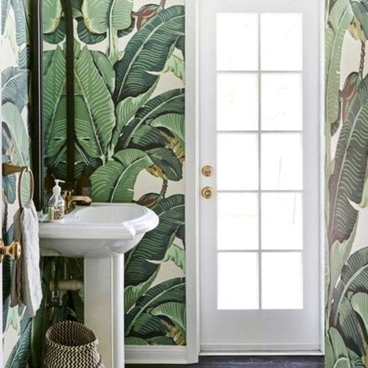 diseños de baños boho
