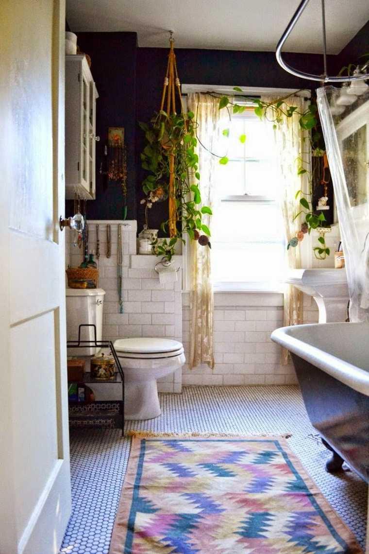 diseños de baños con-alfombra