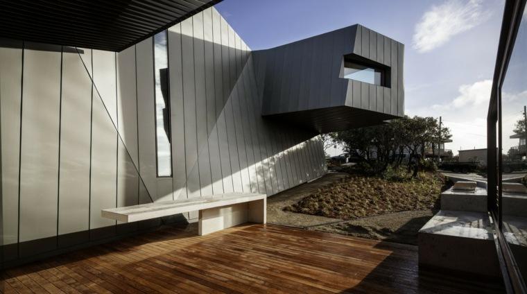 diseños de casas modernas jardines