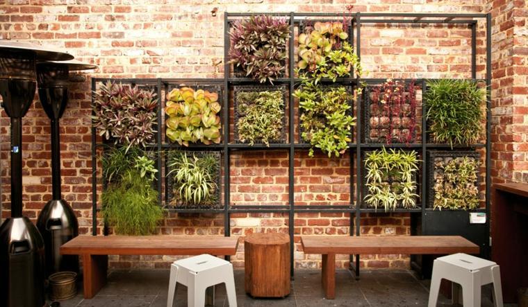 diseno de jardines pequenos-verticales-interior