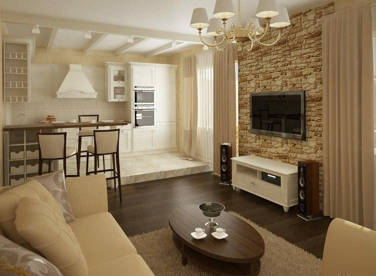 diseno de salas modernas-hundidas-interiores