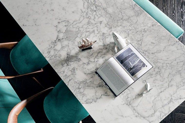 diseño y decoración de interiores apartamento-encimera-marmol