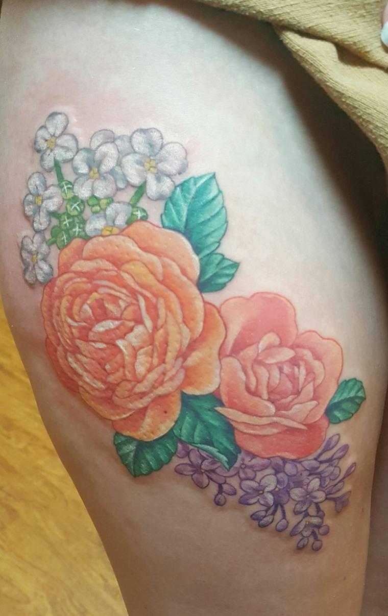 Tatuajes de flores de Cherry Blossom