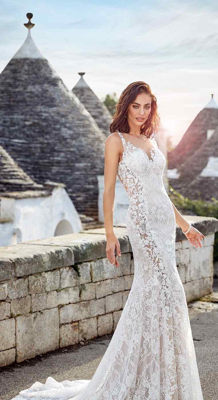 Vestidos de novia para casarse en la playa