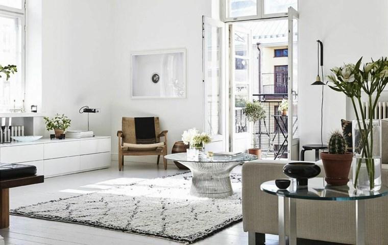 estilos de diseno de interiores-blancos