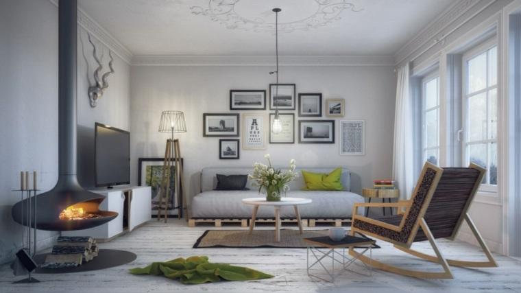estilos de diseno de interiores-escandinavos