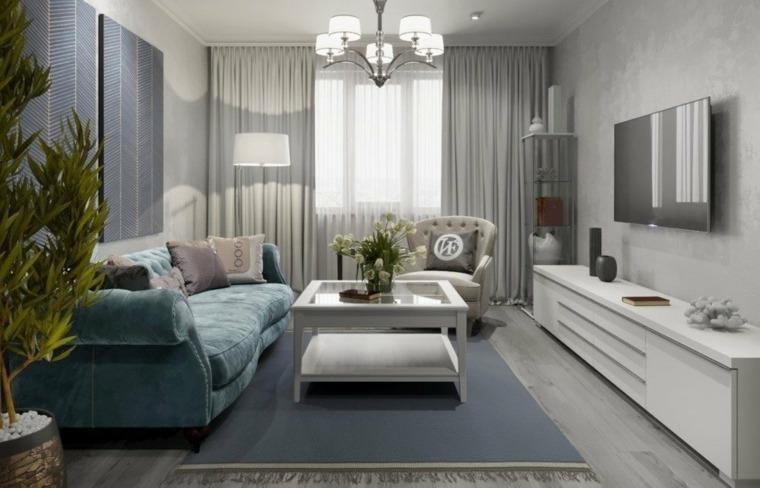 estilos de diseno de interiores-salones