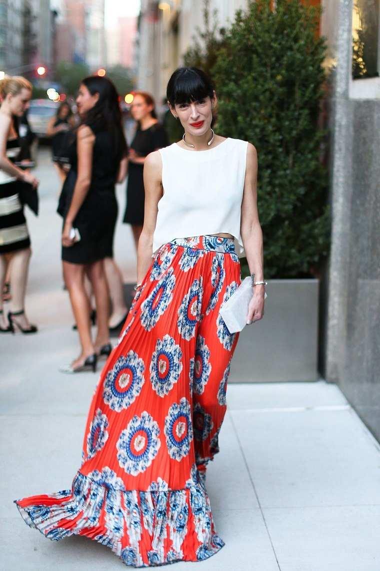 falda-larga-top-blanco-corto
