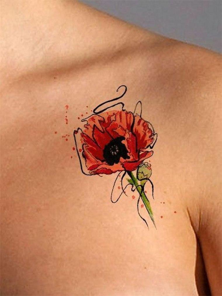 Tatuajes de amapola