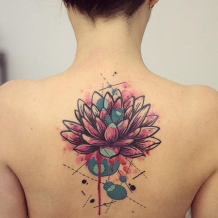 Tatuajes de crisantemos