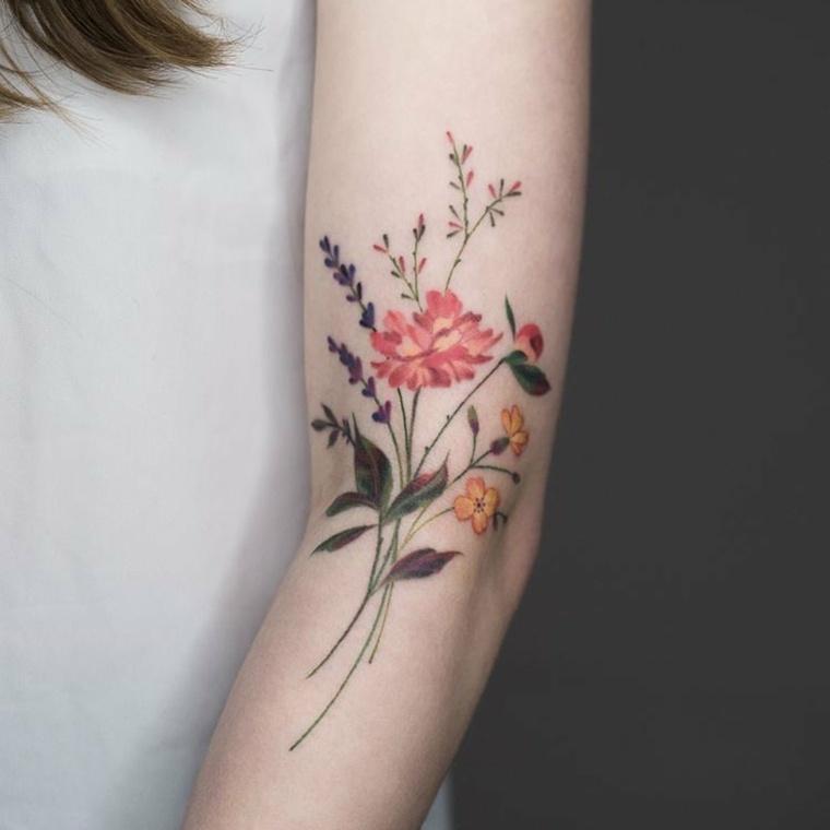 Tattoo de flores: definiendo su significado