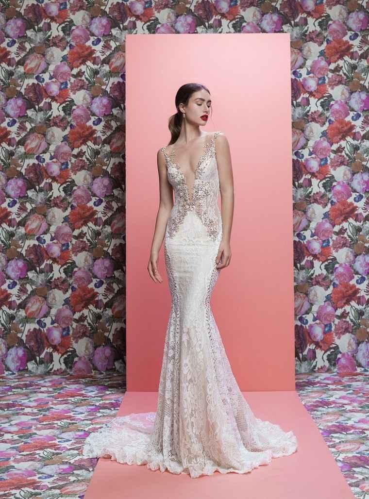 Vestidos de novia modernos - Las mejores ideas para una boda de playa -