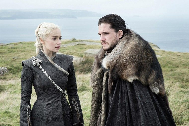 game of thrones-serie-hbo-john-snow-daenerys