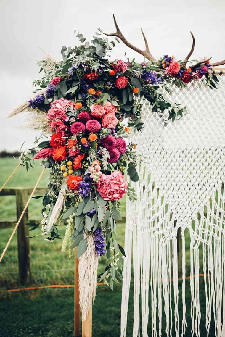 estupendas ideas para bodas de estilo boho chic