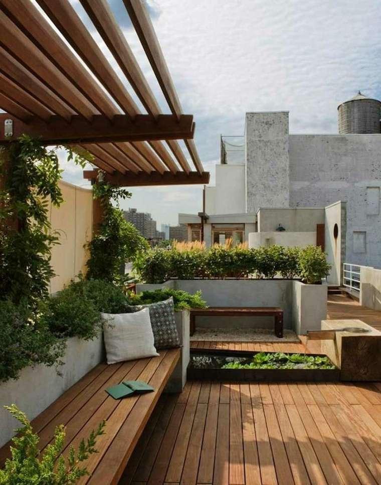 Balcones y azoteas de diseño