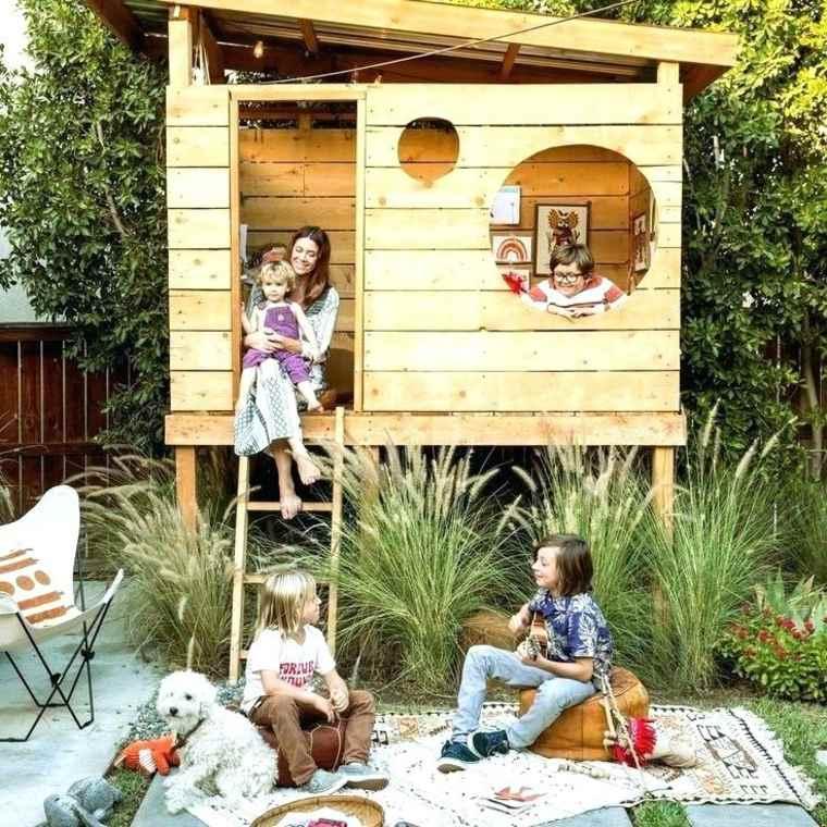 Refugio en el jardín
