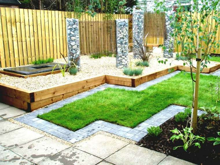 Madera en diseño de jardines modernos - descubra nuevas ideas -