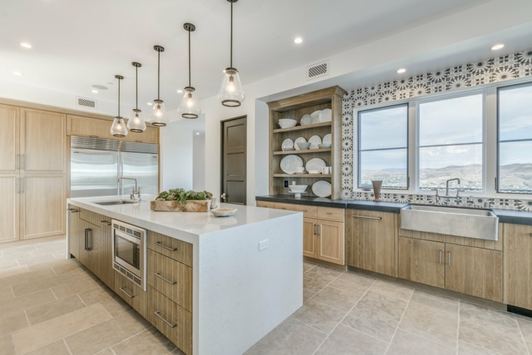 imagenes-de-cocinas-modernas-isla-denise-morrison-interiors