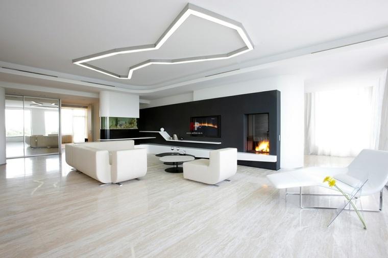 interiores de casas minimalistas-modernas