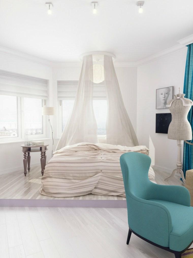 interiores de casas modernas-acentos-turquesas