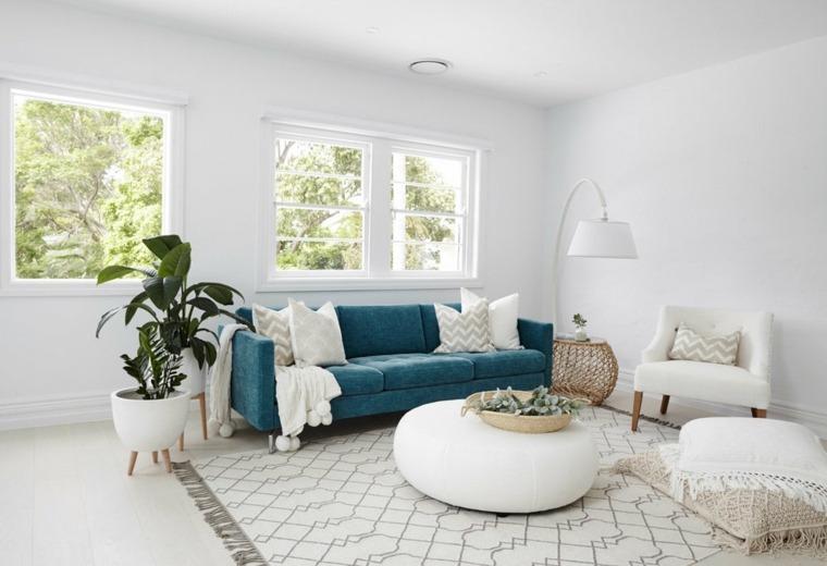 interiores de casas modernas-color-turquesa