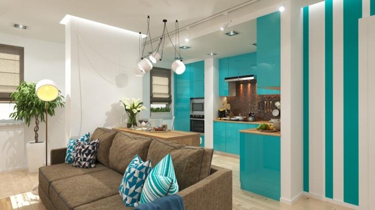 interiores modernos-color-turquesa