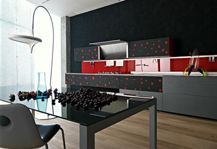 interiores modernos-negro-acentos