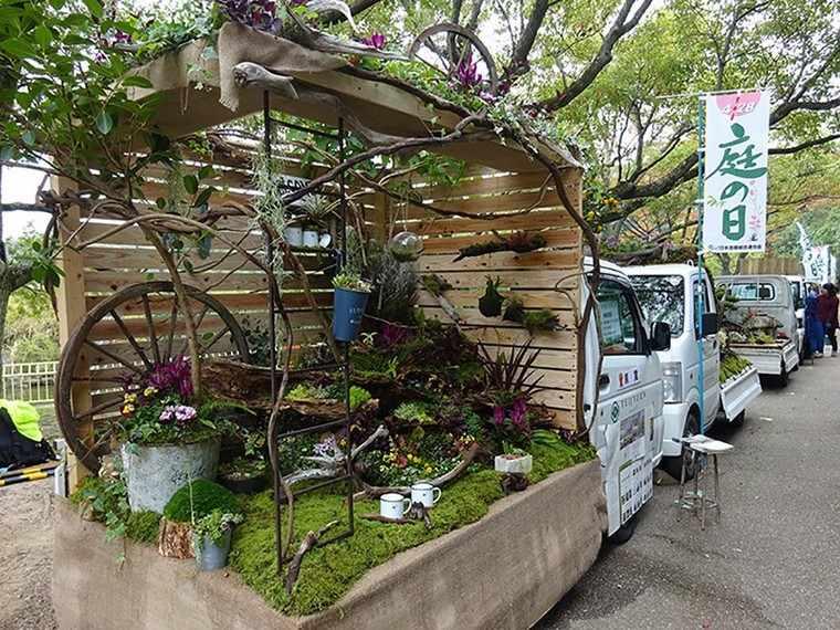 jardin-japones-camion-pergola
