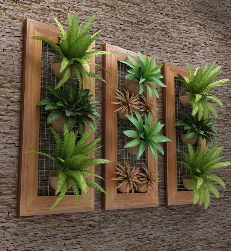 Como hacer un jardin vertical y su dise o en los - Jardin vertical interior ...