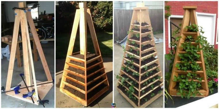 jardines pequenos-forma-piramide