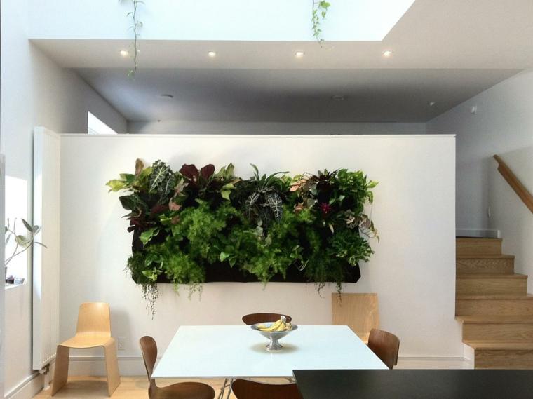 jardines verticales-decoracion-paredes-interiores