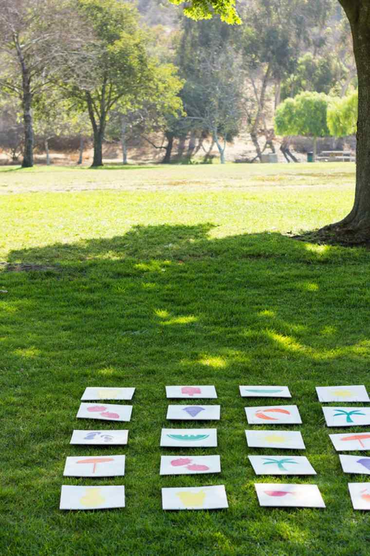 juego-de-memoria-en-el-jardin