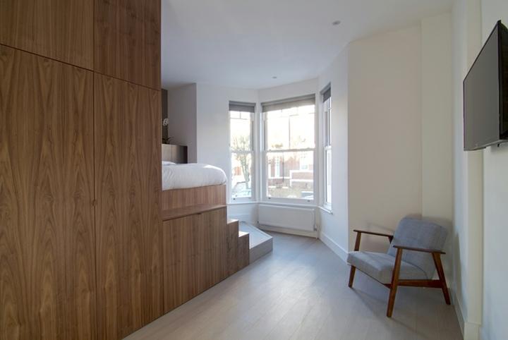 mobiliario modular sillas madera