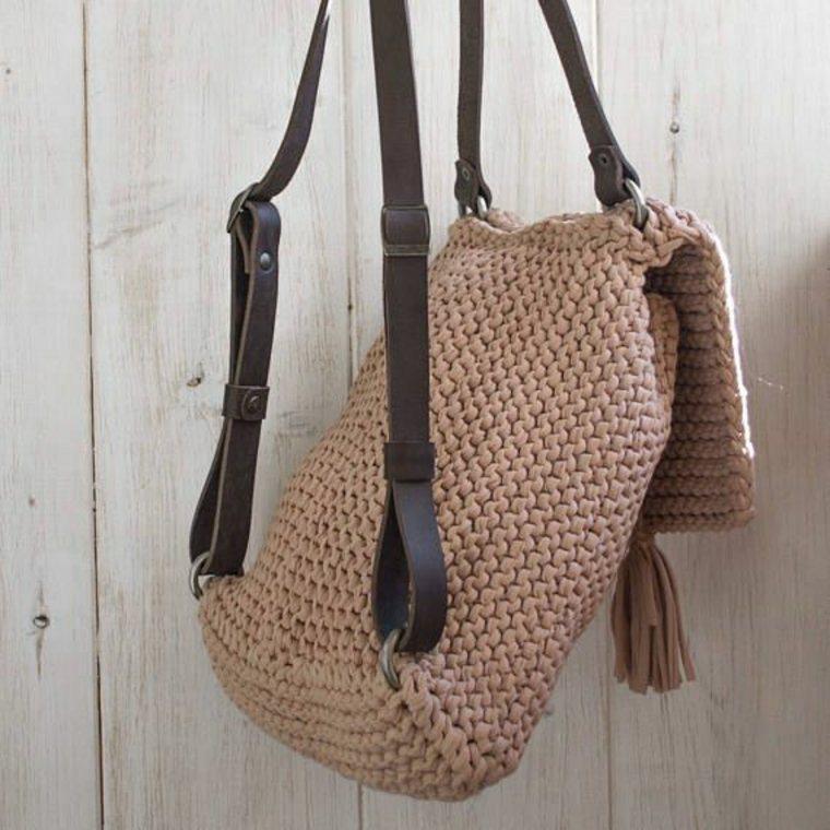 mochilas de ganchillo