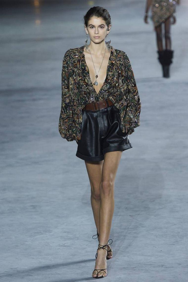 moda-actual-verano-pantalones-cortos-Saint-Laurent