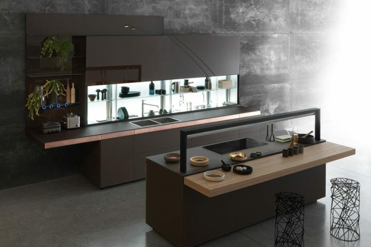 modelos de cocinas-salpicaderos-modernos