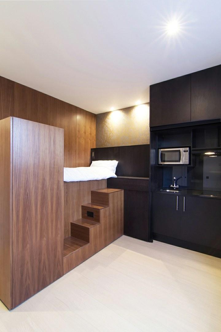 muebles apartamento pequeno estilo