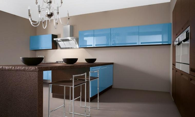 muebles modernos-acentos-turquesas