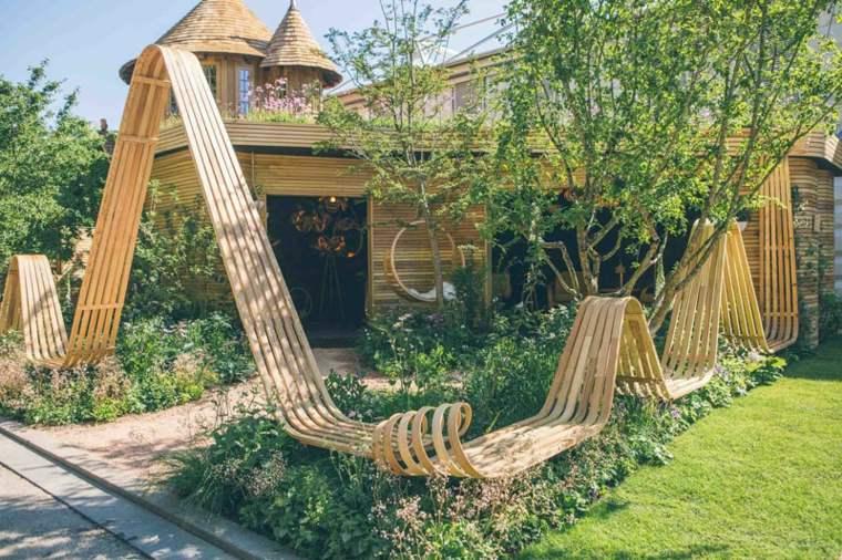 naturaleza mobiliario ideas diseños