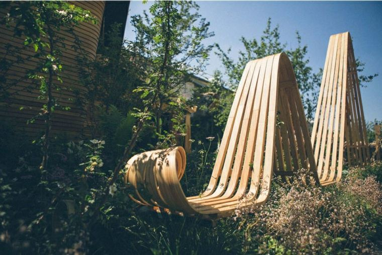 naturaleza mobiliario plantas altas