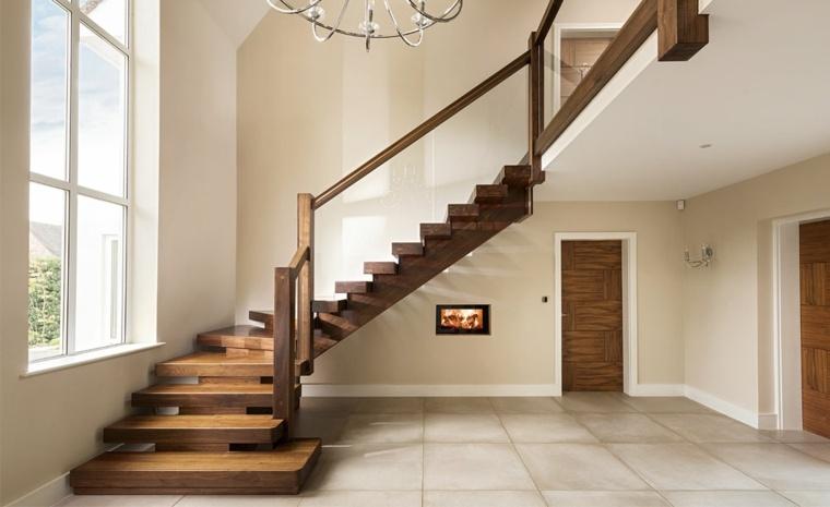 Stair Case Hand Rail Ideas