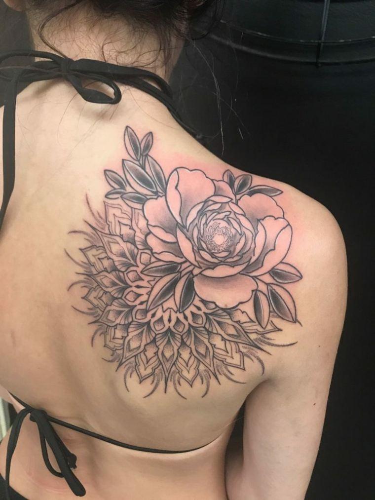 ideas para tatuaje de flores