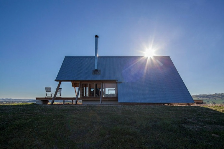 paisaje rural arquitectura moderna