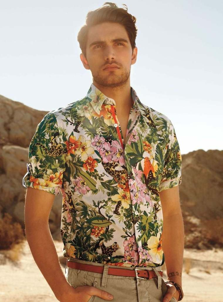 pantalones de moda para hombre-camisa