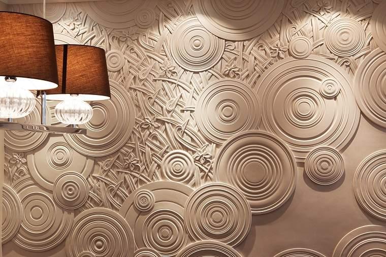 pared-moderna-decoracion-elementos-yeso