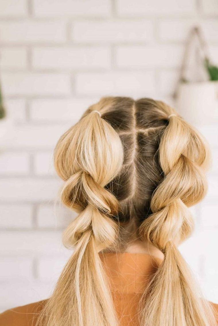 peinados con trenzas-mujeres